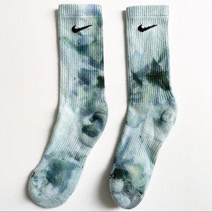 Nike Dri Fit Everyday Custom Tie Dye Crew Socks
